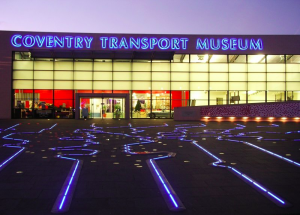 Coventry Transport Museum's 'Drink and Draw' with a twist